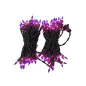 Purple Incandescent String Lights - 100 Lights