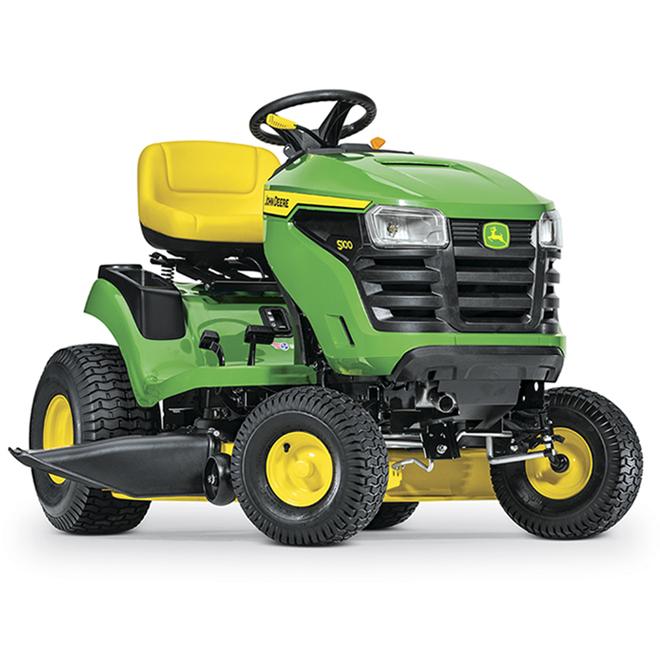 Tracteur à gazon John Deere S100, plateau de 42 po, 17,5 CV, 500 cc