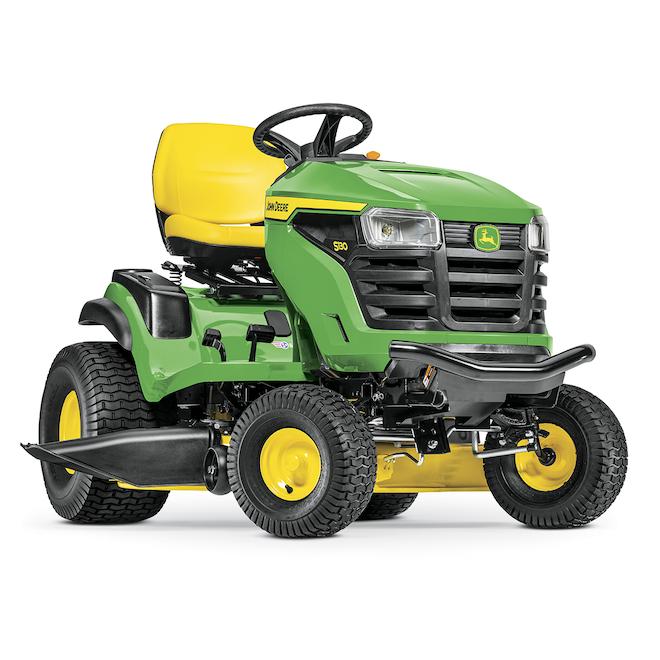 Tracteur à gazon S130 John Deere, 42 po, 22 CV, 724 cc