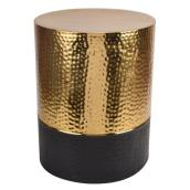 "Garden Stool - 19.7"""" - Gold and Black"