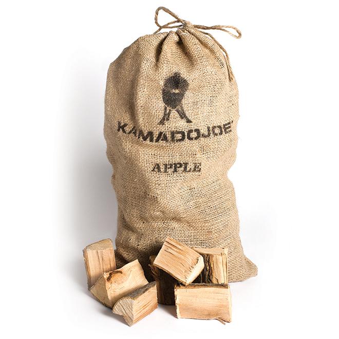 Copeaux de bois de pommier à fumer, 10 lb