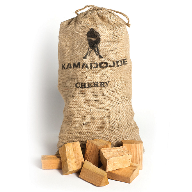 Copeaux de bois de cerisier à fumer, 10 lb