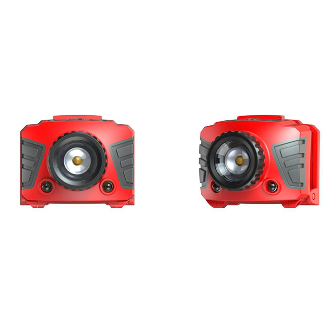 Rotative Headlight - ABS - Metallic Red