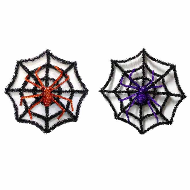 Tinsel Spider Web - Assorted Models