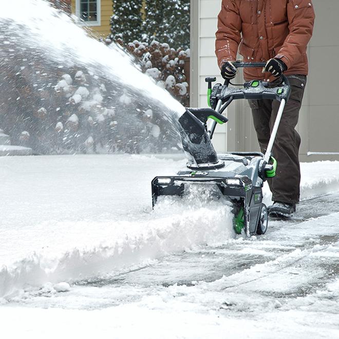 Souffleuse à neige/feuilles, EGO, Peak Power(MC), POWER+ 56V 21 po, distance de projection de 35 pi, chargeur rapide