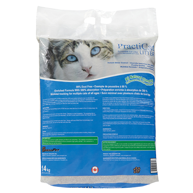 Scoopable Cat Litter - Fresh Scent - 30.8 lb
