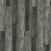 SPC Embossed Flooring - 5 mm - 23.21 sq.ft. - Carbon Oak