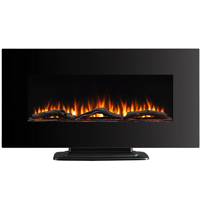 "Whalen Electric Wall Fireplace - 39"" - 1400 W - Black"