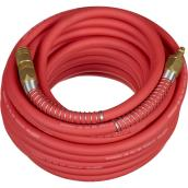 "Crisp-Air Hybrid Air Hose - Rubber - 3/8"" x 50' - Red"