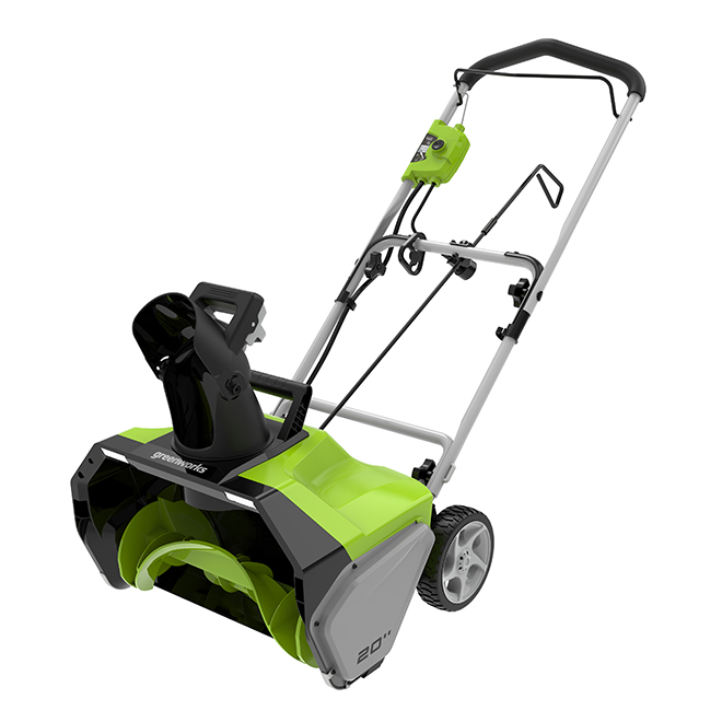 Greenworks(R) Electric Snowblower - 13 A - 20""