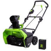 Greenworks(R) Cordless Snowblower - 60 V - 20