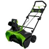 Greenworks Cordless Snowblower - 40 V - 20-in