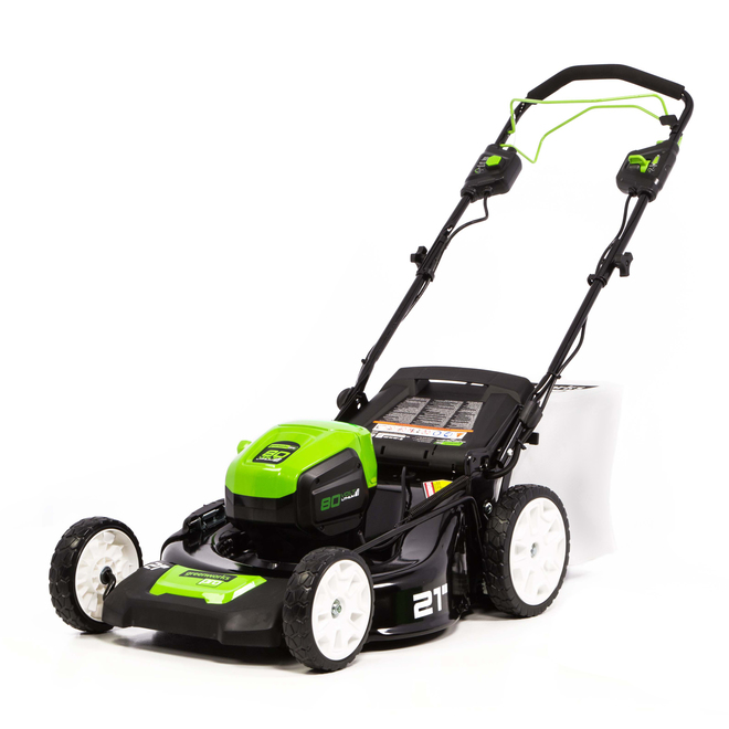 "Self-Propelled Cordless Lawn Mower - 21"" - 80 V"