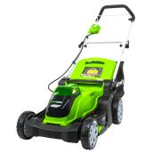 Greenworks Cordless Lawn Mower - Lithium-Ion - 17-in - 40 V