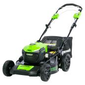 Cordless Lawnmower - Self-Propelled - Li-Ion - 21-in - 40 V