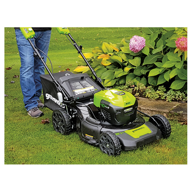 Cordless Lawn Mower - Lithium-Ion - 21