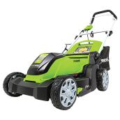 Greenworks Electric Lawn Mower - 17-in - 10 A - Plastic