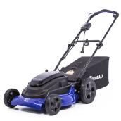 Kobalt 3-in-1 Electric Lawn Mower - 21-in - Steel - Blue/Black