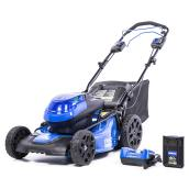 Kobalt Self-Propelled Lawn Mower - 20-in - Steel - Blue/Black