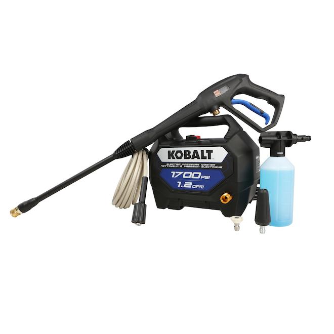 Kobalt Corded Pressure Washer - 1700 PSI - 1.2 gal./min