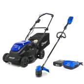 Kobalt 16-in Lawnmower/13-in String Trimmer - 40 V Max Li-Ion
