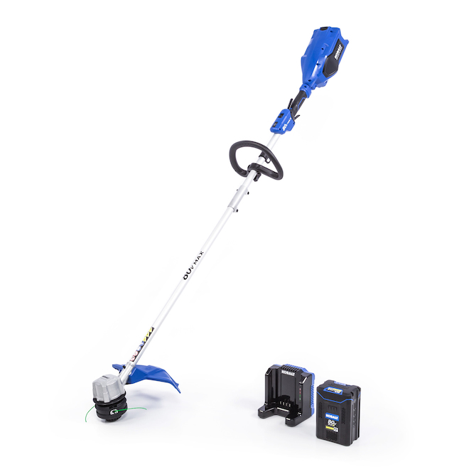Coupe-bordure, Kobalt, sans-fil, plastique 80 V 16 po, bleu