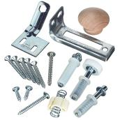 Bi-Fold Door Hardware Set - Steel/Plastic
