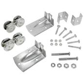 Wheel Kit for Barn Doors - Galvanized Steel