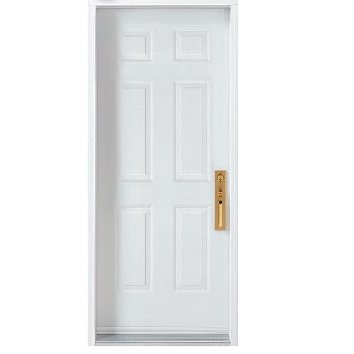 """""""6-Panel"""" Steel Door"""