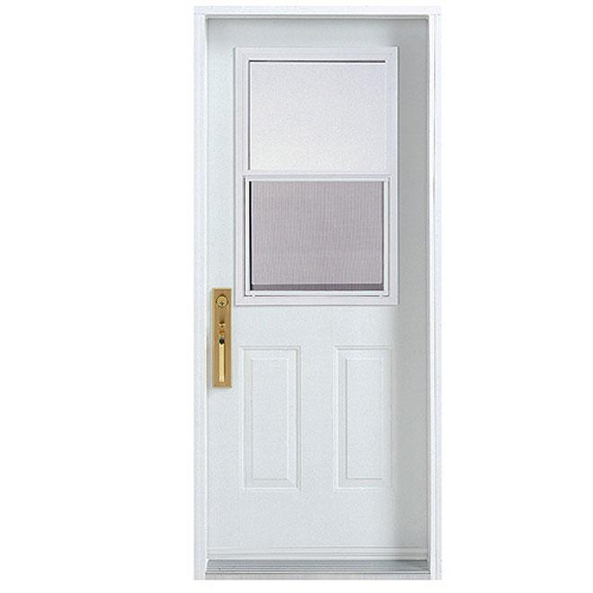 """Hung-Window Exterior Steel Door 30 x-80"""""""