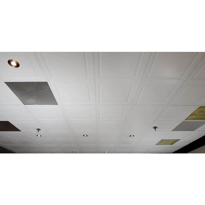 Tuiles à plafond MURdesign Desert en HDF, 2 pi x 4 pi, 4/bte