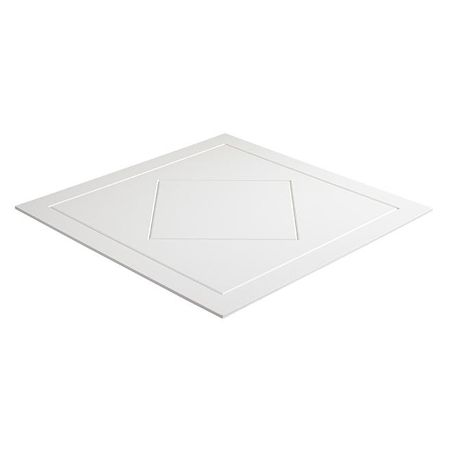 Tuile à plafond Belagio, 2' x 2', boite de 8