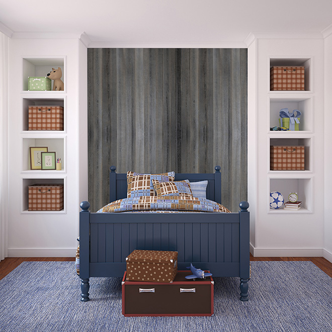 mur design planches murales d coratives rustik panh468r rona. Black Bedroom Furniture Sets. Home Design Ideas