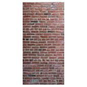 "Brick Effect Wall Panel - 48 ""x 96"" - Red"
