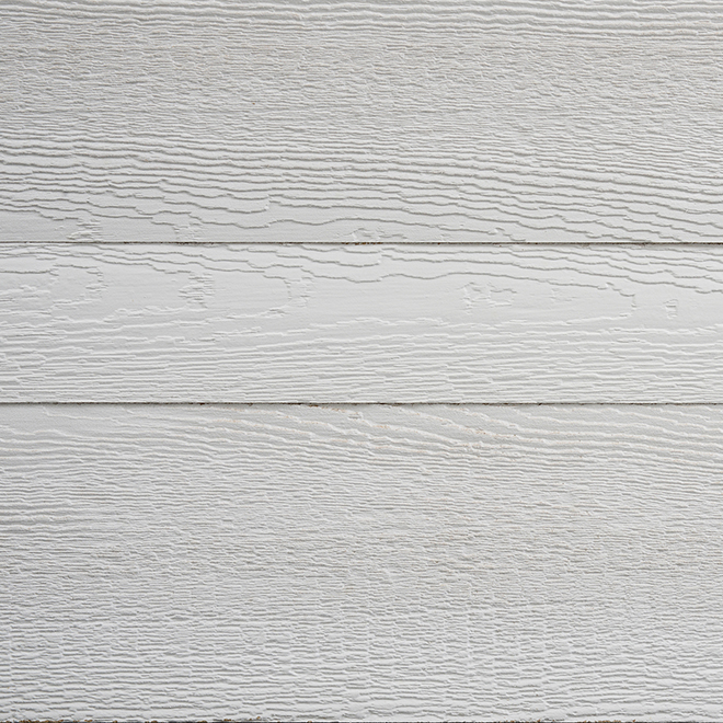 Decorative Accent Wall - Faux Barn Wood - 8' - White