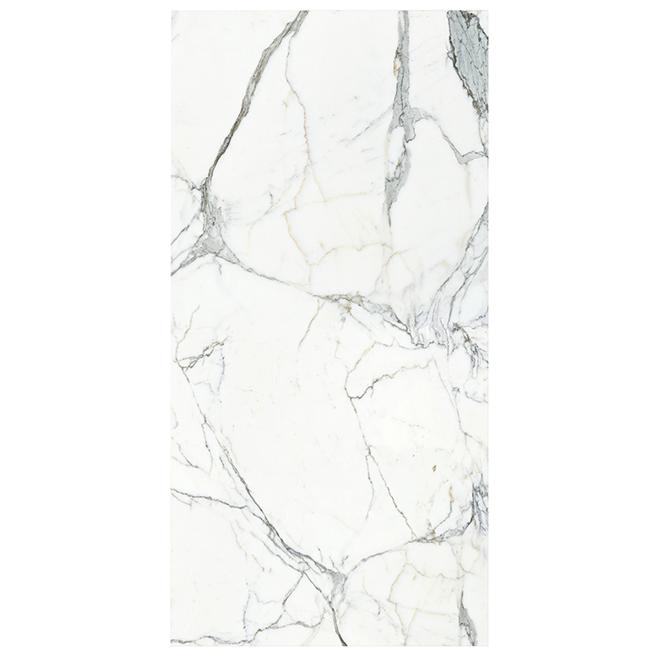 Panneau Mural Mur Design Imitation Marbre 96 Blanc Pant Ih48at