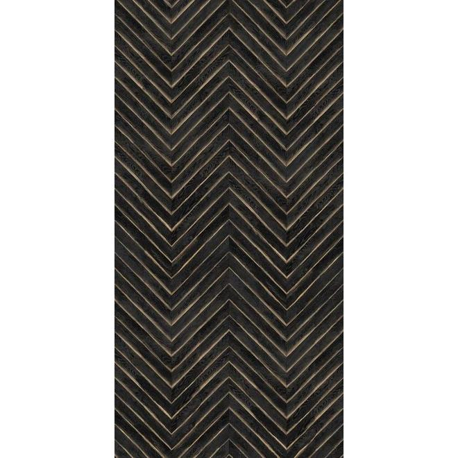 "Panneau décoratif MURdesign Vesper, HDF, 1/4"" x 48"" x 96"", noir"