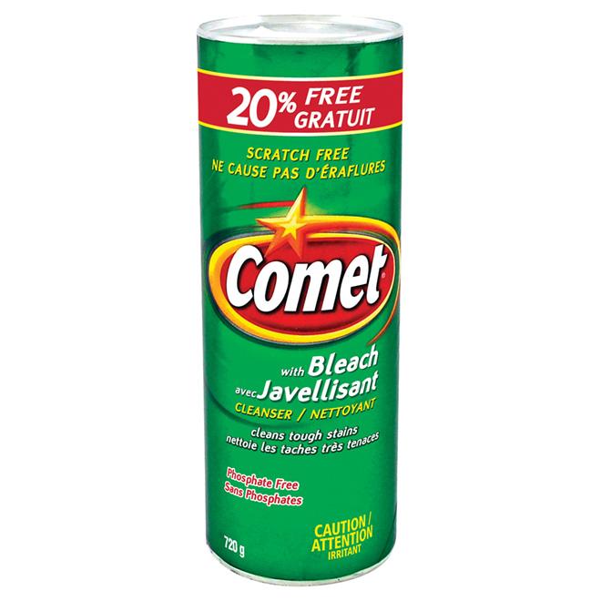 Nettoyant Comet avec javellisant en poudre, 720 g