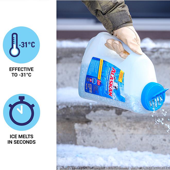 "Ice Melter - ""Alaskan"" Ice Melter - 5 kg"