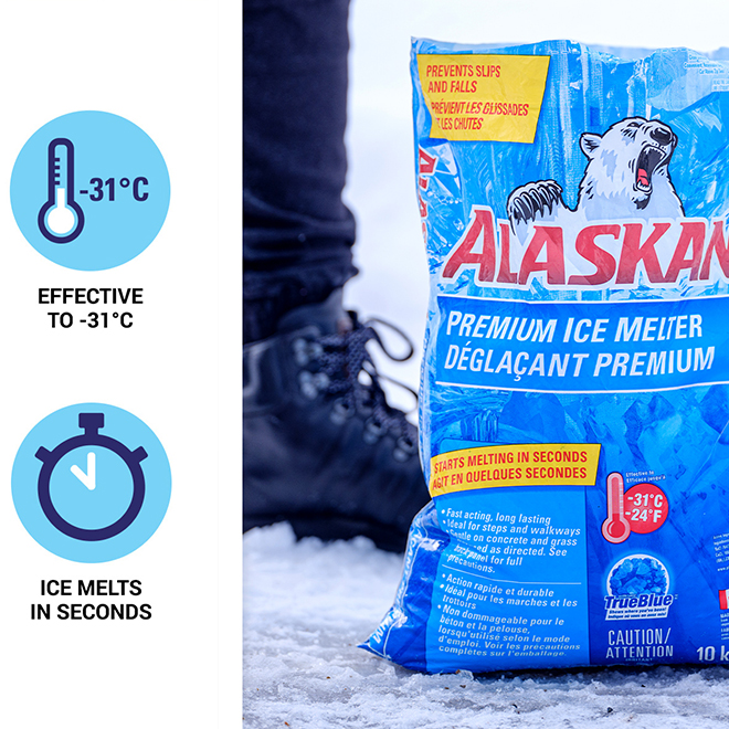 Alaskan Premium Ice Melter Bag - 10 kg