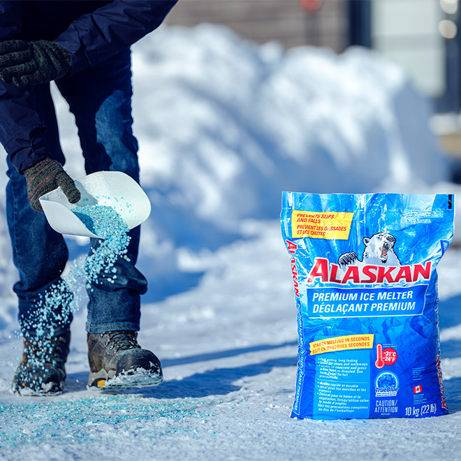 Déglaçant premium en sac Alaskan, 10 kg