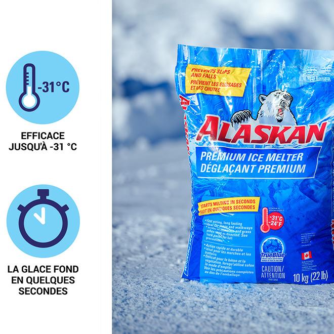 Déglaçant premium en sac Alaskan, 20 kg