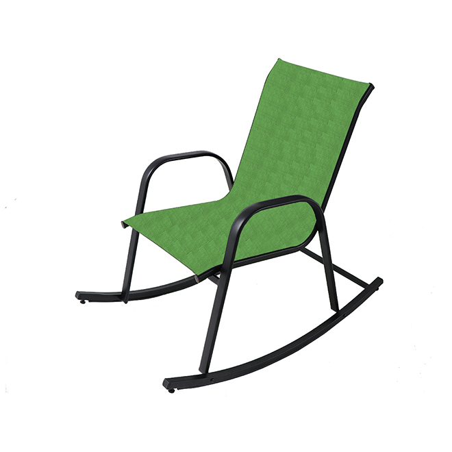 Rocking Chair - Steel - Green and Black