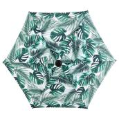Market Umbrella - Leaf Pattern - 7.5' - Steel/Fabric - Green