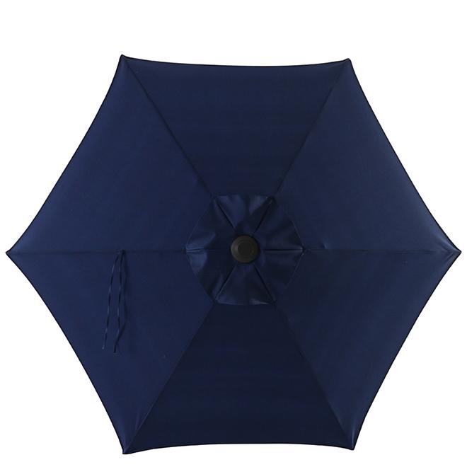 Market Umbrella - 7.5' - Steel/Fabric - Blue