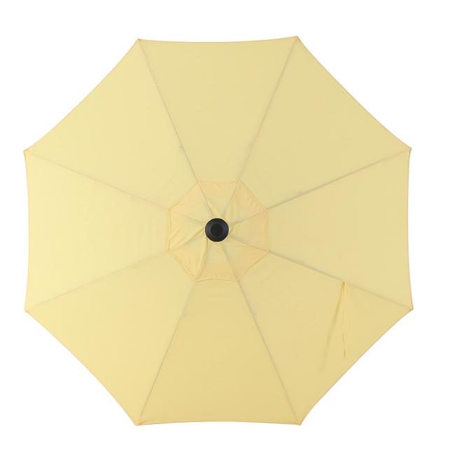 Market Style Umbrella - 9' - Aluminum/Fabric - Yellow