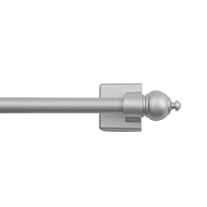 Magnetic Ball Finial Curtain Rod