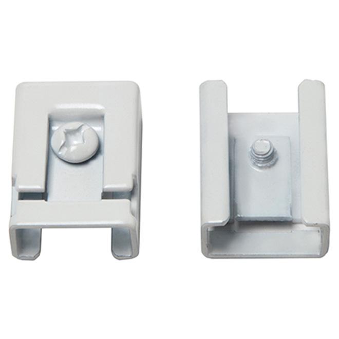 I-Beam Clips - White - Pack of 2