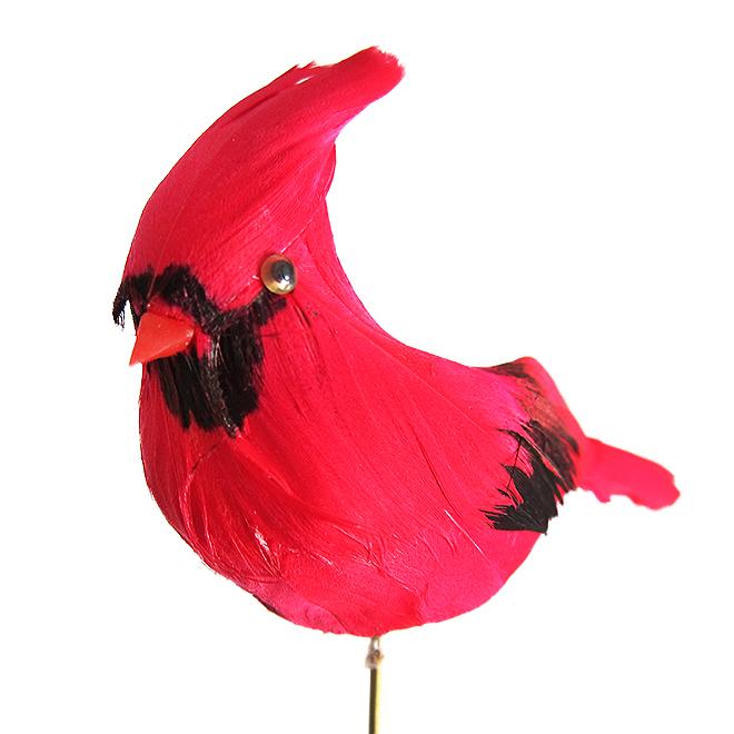 Green Plus Nurseries Cardinal Decorative Accessory - Red