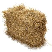 Straw Bale for Porch